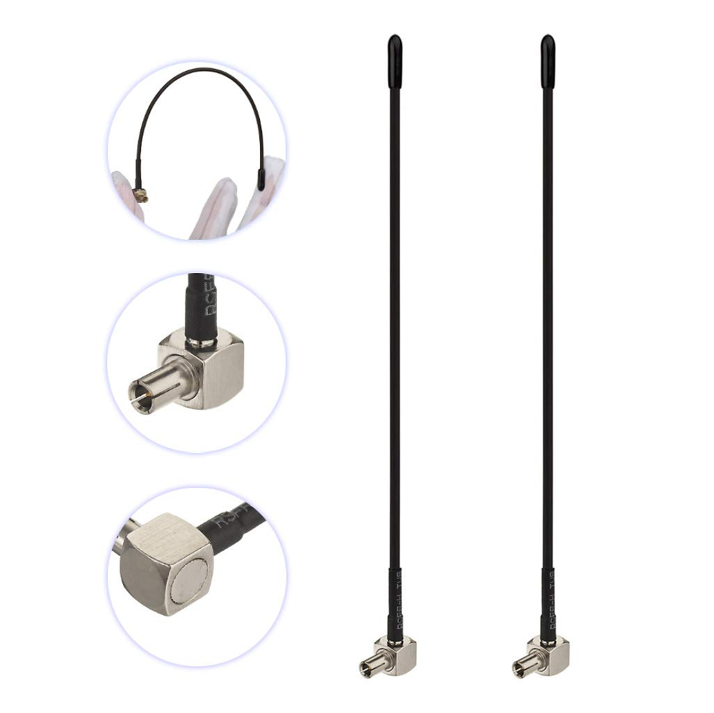 2-Pack 4G LTE TS9 Antenna for Verzion AT/&T Sprint T-Mobile MiFi Mobile Hotspot