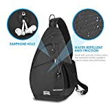 Waterfly Sling Backpack Sling Bag Crossbody Daypack