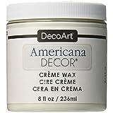 Deco Art ADM8-01-36 Americana Decor Creme Wax, 8-Ounce, Clear
