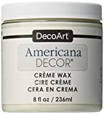 DecoArt Americana Decor Creme Wax, 8-Ounce, Clear