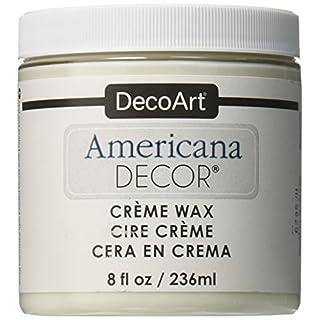 Deco Art Americana Decor Creme Wax, 8-Ounce, Clear