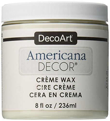 (DecoArt Americana Decor Creme Wax, 8-Ounce, Clear)