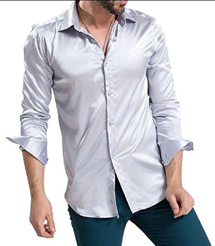 Charmeuse Big Shirt - 2