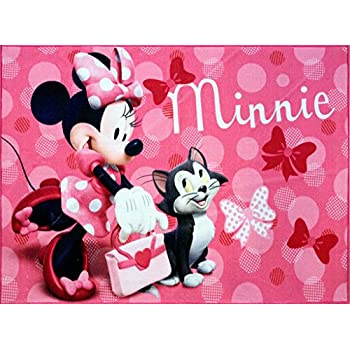Amazon Com Gertmenian Disney Minnie Mouse Rug W Figaro