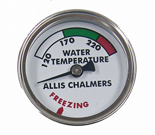 Allis Chalmers Tractor Water Temperature Gauge Replaces 70213675 & 213675 ()