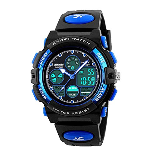 Touber Christmas Xmas Presents for 6-12 Years Old Girls Boys, Kids Sport Watches for Grils Xmas Gifts for 6-12 Year Girls Boys (Best Year 6 Boy For Gifts Old Christmas)