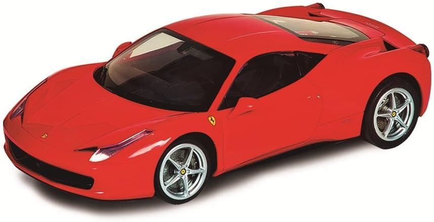 Silverlit - Ferrari 458 Italia, 1:50, Coche radiocontrol, Color Rojo (83675)