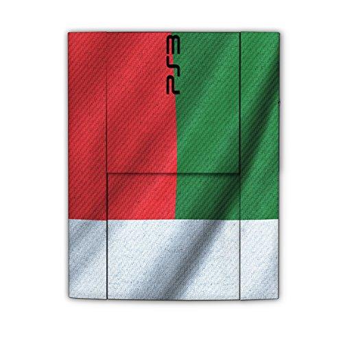"Sony Playstation 3 Superslim Design Skin ""flag of Madagascar"" Decal Sticker for Playstation 3 Superslim"