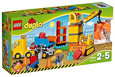 Lego Duplo Big Construction Site | Toddler Toys