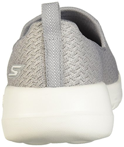 GO Gray Sports Rejoice Walk Slip Joy On Womens Skechers Shoes dfAxqdR