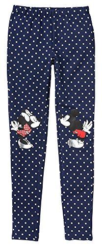 Gap Kids Girls Disney Mickey & Minnie Mouse Navy Dot Leggings Medium 8