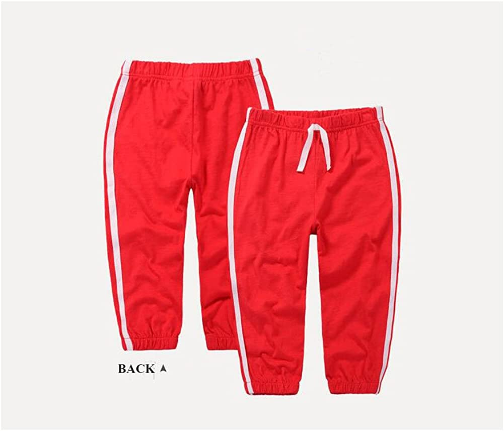 Baby Toddler Mosquito Pant Unisex Cotton Long Trousers Pure Color Joggers Thin Pants White /…