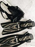 Scuba Pro Twin Jet Max Open Heel Split Scuba Diving Fins