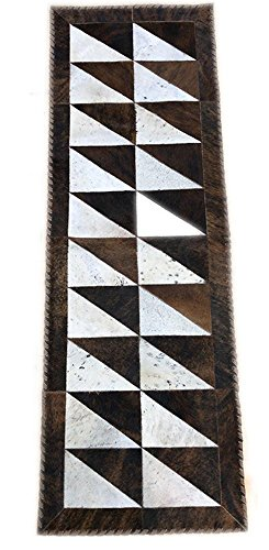 100% Authentic Hair on Cowhide Table Runner - 1x6 ft or 2x6 ft - Perfect for the Living Room, Dining Room, Family Room and Kitchen by Trahide Company