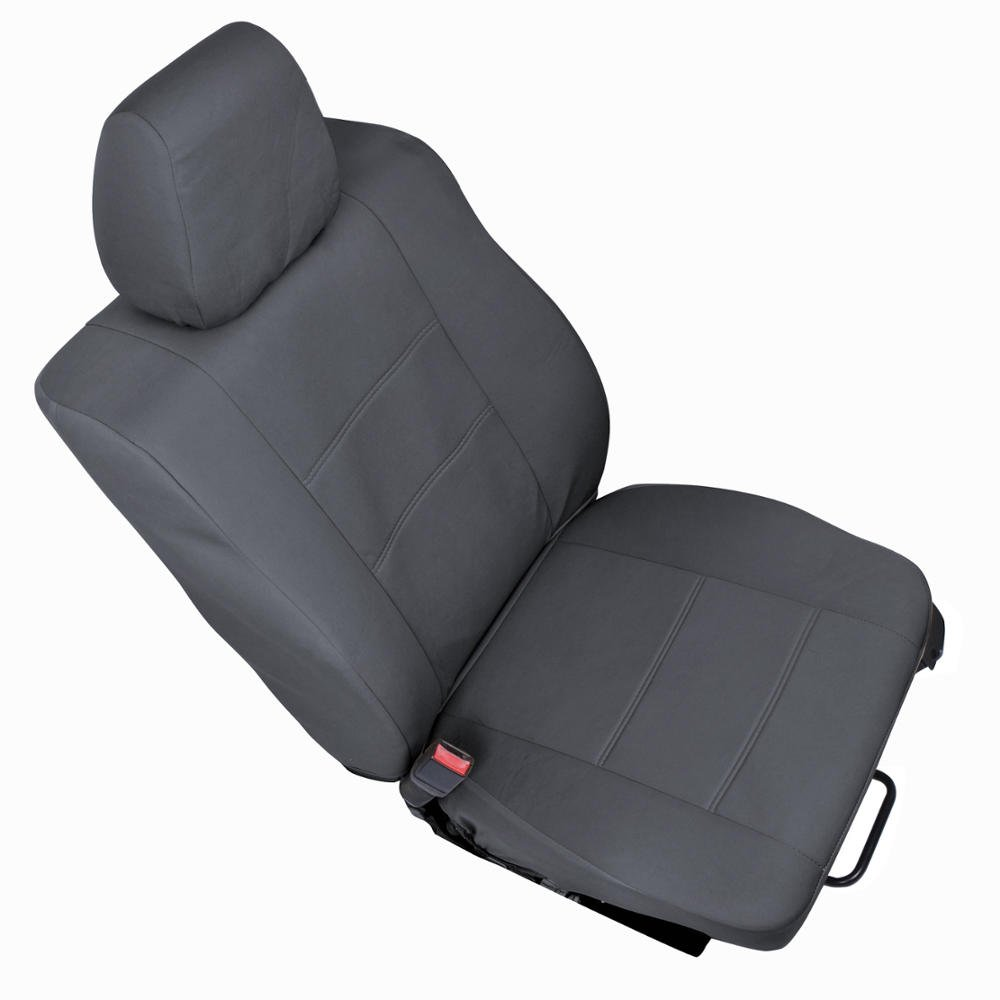 Fine Polycustom Seat Covers For Ford F 150 Crew Cab 04 08 Single Bucket Easywrap Cloth In Charcoal Bralicious Painted Fabric Chair Ideas Braliciousco