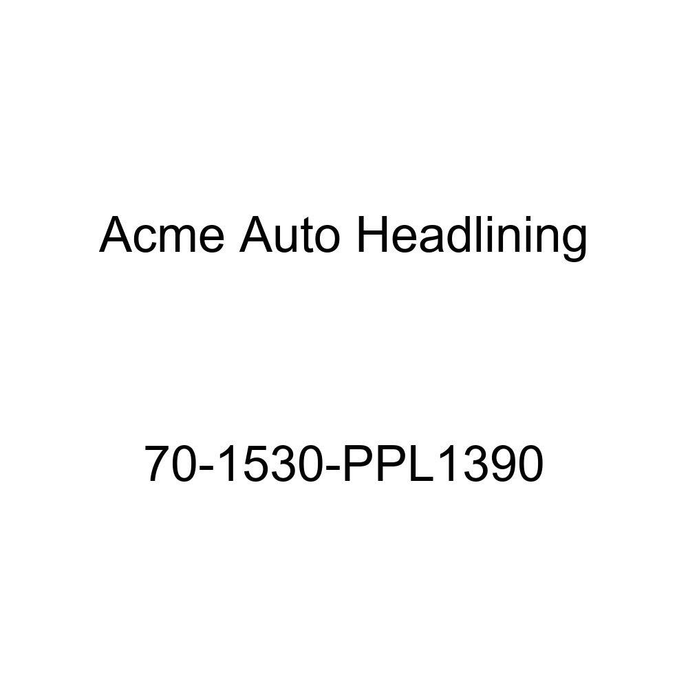 Acme Auto Headlining 70-1530-PPL1390 Maroon Replacement Headliner 1970 Pontiac Lemans 4 Door Hardtop 6 Bow
