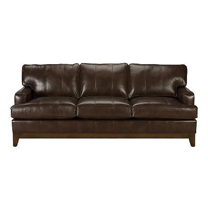 ethan allen leather sofa – andreifornea.com