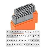 ImpressArt- Basic Bridgette Uppercase and Lowercase Letter Metal Stamp Set