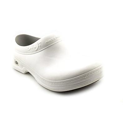 Skechers For Work Clara Damen Gummi Pantoletten Schuhe Ohne