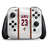 Cleveland Cavaliers Nintendo Switch Joy Con Controller Skin - LeBron James #23 Cleveland Cavaliers Home Jersey | NBA & Skinit Skin