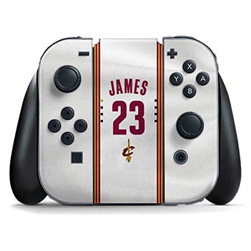 Cleveland Cavaliers Nintendo Switch Joy Con Controller Skin - LeBron James #23 Cleveland Cavaliers Home Jersey | NBA & Skinit Skin by Skinit