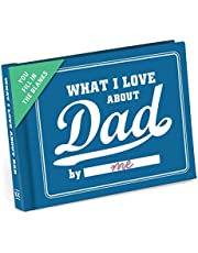 Knock Knock What I Love about Dad Fill In The Love Book Fill-In-The-Blank Journal, 4.5 x 3.25-inches