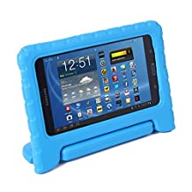 HDE Samsung Galaxy Tab 4 7.0 Case Kids Shock Proof Cover Stand for 7 inch Galaxy Tab 4 Tablets (Blue)