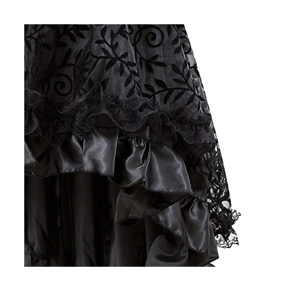 Halloween Corset Top and Steampunk Skirt Costumes