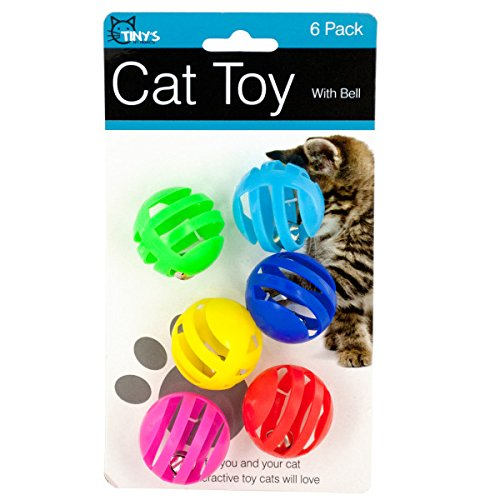 bulk buys Balls with Bells Cat Toys -