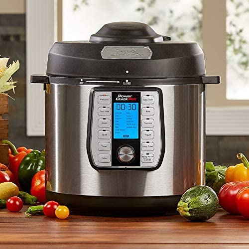 Amazon.com: Power Quick Pot - Olla a presión programable ...