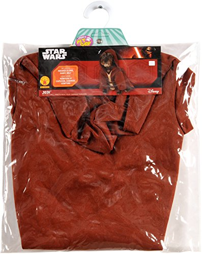 Taco Dress Womens Costumes (Rubies Costume Company Star Wars Classic Jedi Robe Pet Costume, Medium)