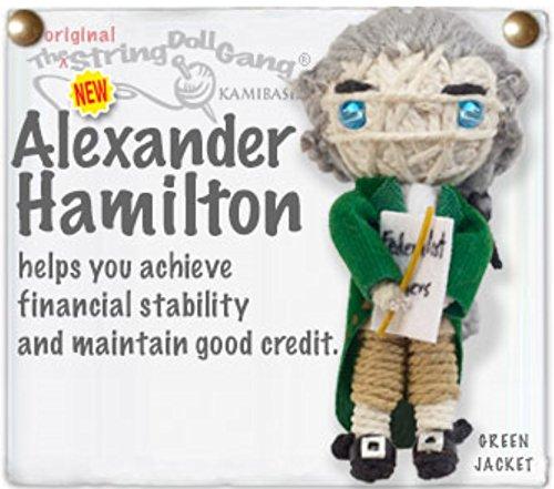 - Kamibashi Alexander Hamilton Leader The Original String Doll Gang Keychain Clip
