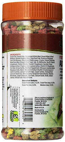 Pictures of Zilla Reptile Food Adult Iguana Fortified 6. 100111682 4