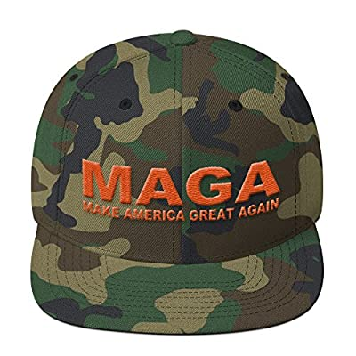 Camo Make America Great Again Donald Trump Cap