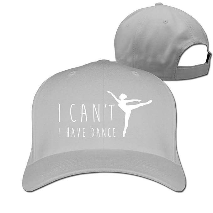 Zcfhike No Puedo Ballet Tengo Baile Unisex Sombrero y Gorra ...