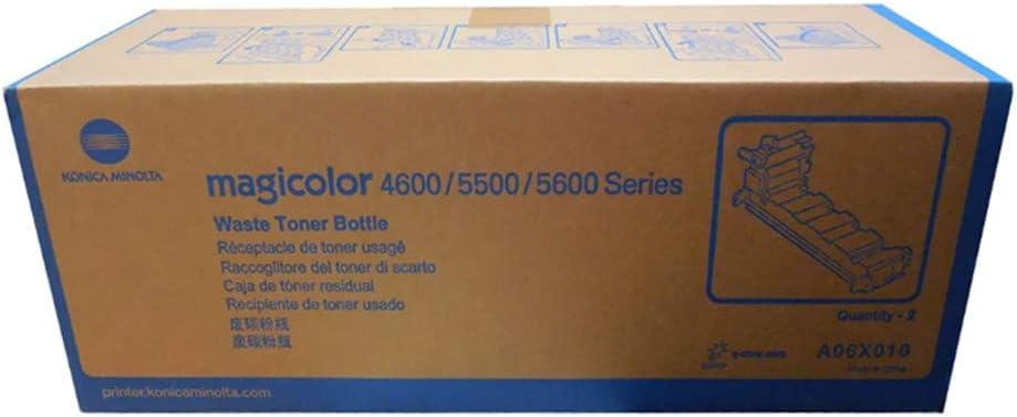 Konica Minolta Magicolor 4650//4690mf//4695mf//5650//5670 Waste Toner Bottle 2 Piece Pack Popular New