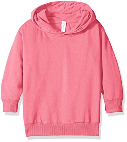 Clementine Apparel Girls' Little (2-7) Apparel Toddler's Fleece Pullover Hood, Raspberry, 5/6 ()