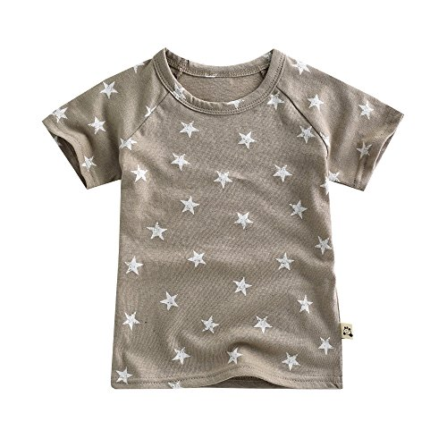 Agibaby Boys and Girls Infant & Toddler Short Sleeve Tshirts