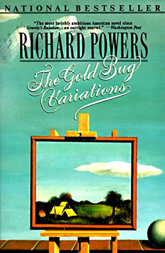 Book cover from Gold Bug Variations by Richard Powers
