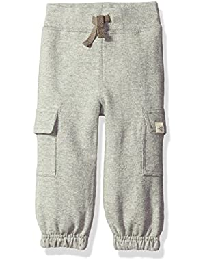 Boys' Organic French Terry Cargo Pant
