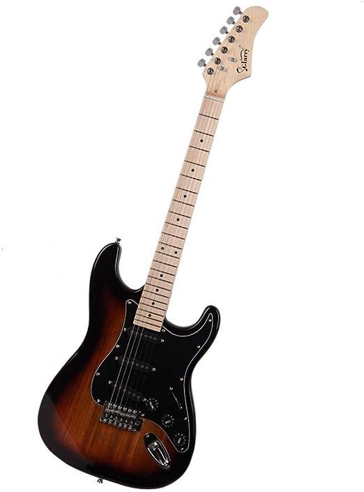 Escudo Negro Guitarra eléctrica (Puesta de Sol de Color) + ...