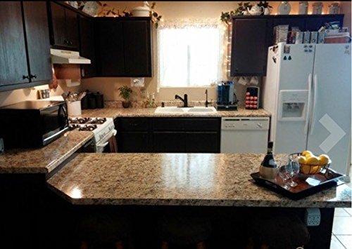 Instant Granite Countertop : Instant granite venetian gold santa cecilia counter top
