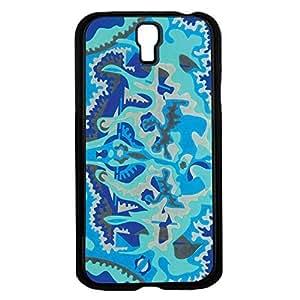 Blue Pattern Hard Snap on Phone Case (Galaxy s4 IV)