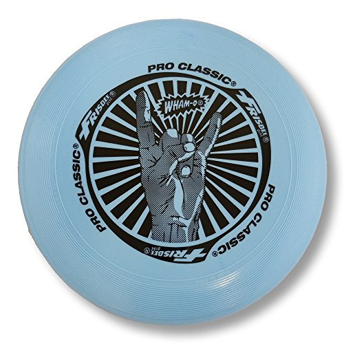 Wham-O Pro Classic 130 Gram Flying Discs (Light Blue)
