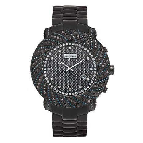 Joe Rodeo Diamond Men's Watch - JUNIOR black 4.25 ctw