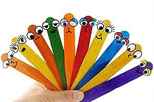 Compra Toruiwa 50X Helado de Madera Palos de Madera de Colores ...