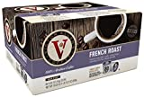 Victor Allen Coffee, French Roast Single Serve K-cup, 80 Count (Compatible with 2.0 Keurig Brewers)