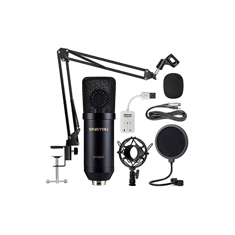 ZINGYOU Condenser Microphone Bundle, ZY-