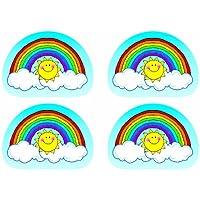 Quality Stickers Rainbows 144Pk By Carson Dellosa