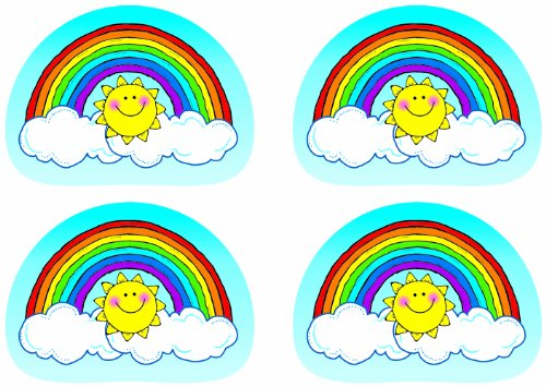 Quality Stickers Rainbows 144Pk By Carson Dellosa